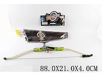 Лук со стрелами и лазерным прицелом