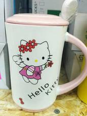 Керамическая кружка H-219 Hello Kitty, фото 2