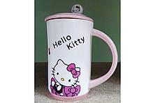Керамическая кружка H-219 Hello Kitty, фото 3