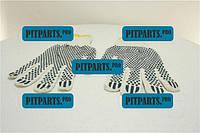 Перчатки рабочие (белые с точкой)  (ПВХ)