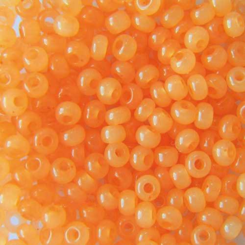Бисер чешский 02184 5гр оранжевый
