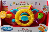 Развивающая игрушка Музыкальный руль, желтый, Playgro (184477-2)