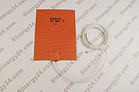 Гибкая греющая пластина 400Вт,24В, (203х152мм), терморегулятор 50 градусов