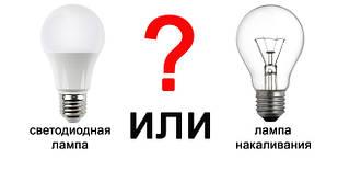 Зачем менять лампы накаливания на LED лампы?