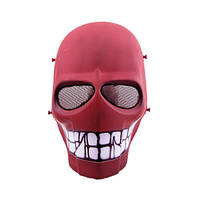 "Страйкбольная маска ""Red Smiley"" - желтый"