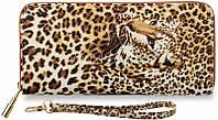 Коричневый леопардовый женский клатч Katifyldzhamal