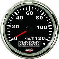 GPS спидометр с одометром PMG3-BS-120KL черный 85мм
