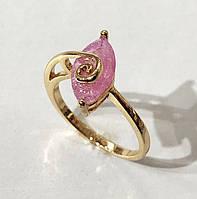 Кольцо XP Розовая капля, размер 17,18,19