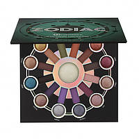 Палетка запечённых теней Zodiac - 25 Color Eyeshadow & Highlighter Palette BH Cosmetics Оригинал
