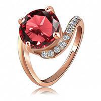 Женское кольцо с австрийскими кристаллами
