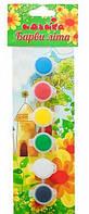 Акриловые краски Краски лета, 6 шт., Идейка (98101)