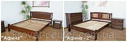 """Кровать деревянная из серии """"Афина"""". Массив - сосна, ольха, береза, дуб., фото 2"""