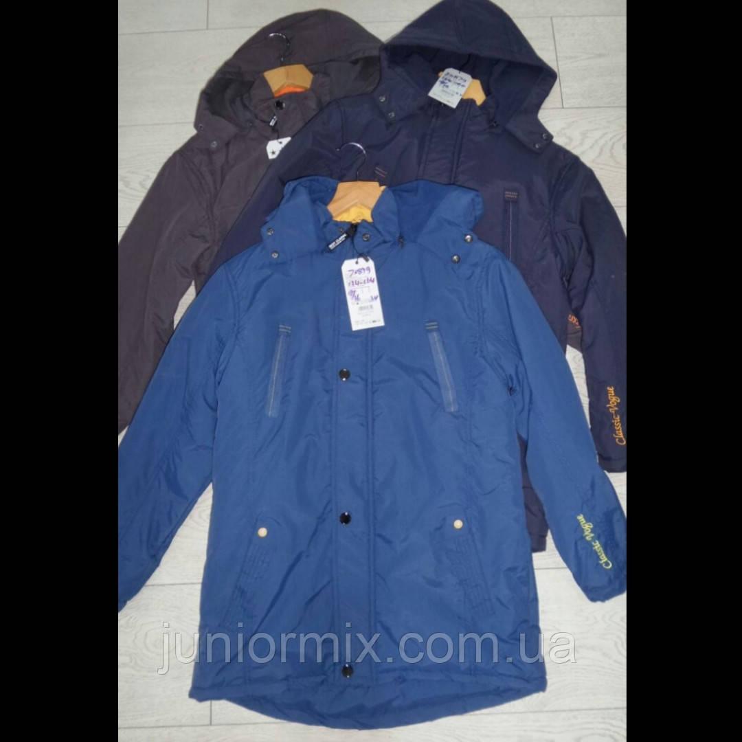 Подростковые демисезонные куртки для мальчиков оптом GRACE
