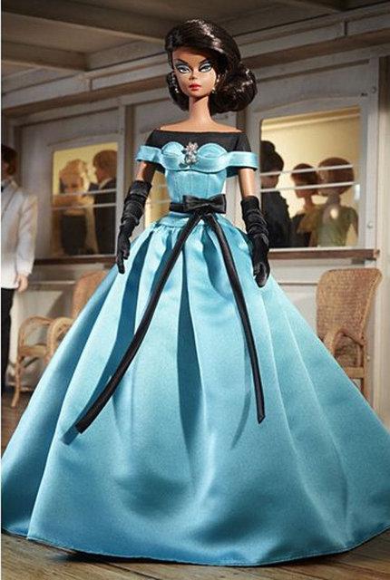 Колекційна лялька Барбі Силкстоун Бальна сукня / Barbie Fashion Model Collection Ball Gown 2013