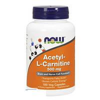 Ацетил Л-карнитин 500 mg (50 caps) Acetyl-L-Carnitine USA