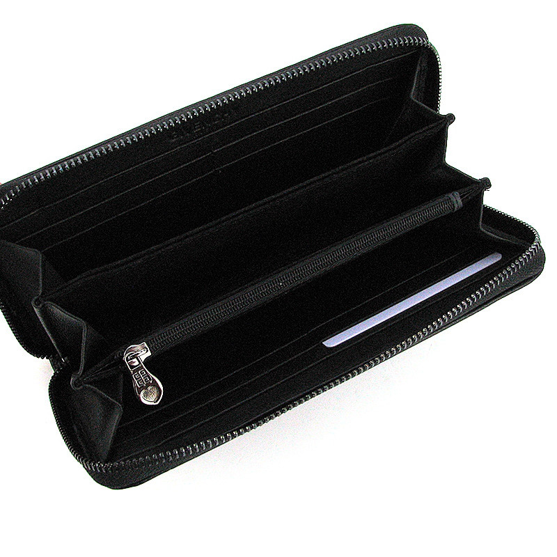 723d762fd433 Кошелек кожаный женский на молнии черный Givenchy 6288- купить по ...