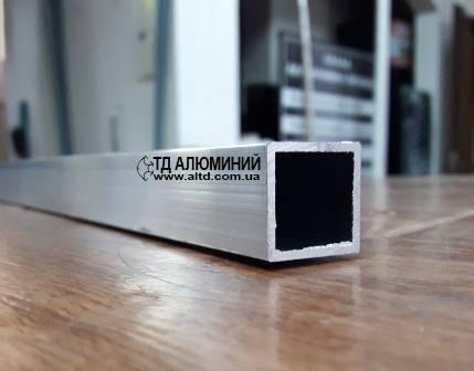 Алюминиевая труба квадратная 20х20 х1,5 / без покрытия