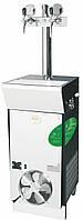Охладитель пива мобильный - 300 л/ч - проточный, CWP 300 Green line (колонна с 2-мя кранами), Lindr, Чехия