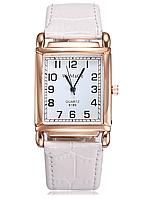 Наручные часы женские с белым ремешком код 348