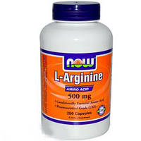 Аргинин Arginine 500 mg (250 caps) USA