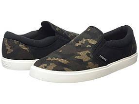Кроссовки/Кеды (Оригинал) Crocs CitiLane Graphic Slip-On Sneak Camo/Black