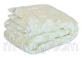 Одеяло полуторное искусственный лебяжий пух Downfill 150/210,ткань тик
