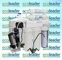 Cистема обратного осмоса с помпой AquaLeader RO-6 pump