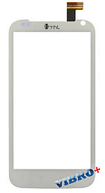 Тачскрин (сенсор) THL W3+, white (белый)