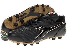 Кроссовки/Кеды (Оригинал) Diadora Brasil Classic Black/Gold