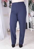 Женские брюки батал прямого кроя в расцветках 6115441
