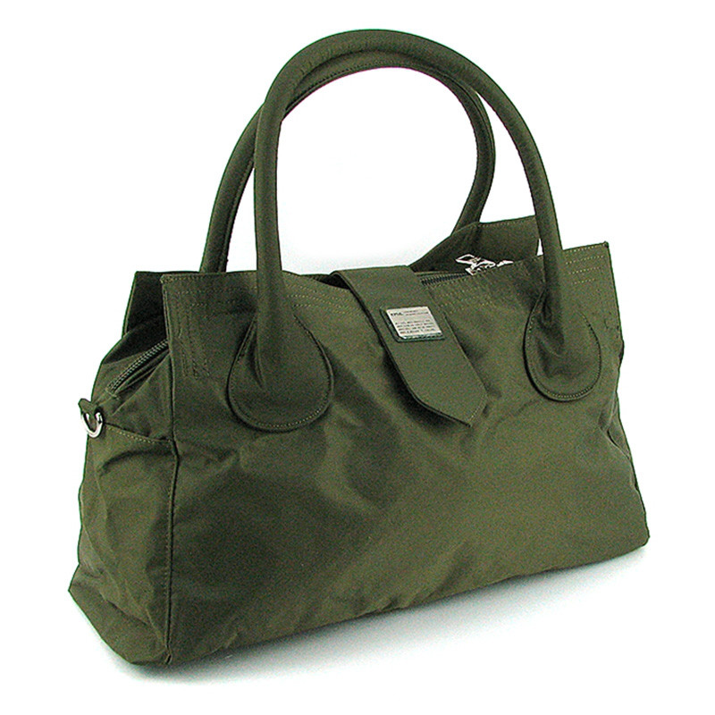 9a06b61ccef5 Дорожная малая спортивная сумка текстильная зеленая Эпол 23602 (Epol) ,  39*20*