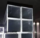 Труба алюминиевая квадратная 60х60 х3.5 / без покрытия