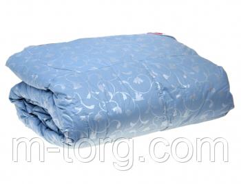 Одеяло полуторное натуральный пух 145*205,ткань тик, фото 2