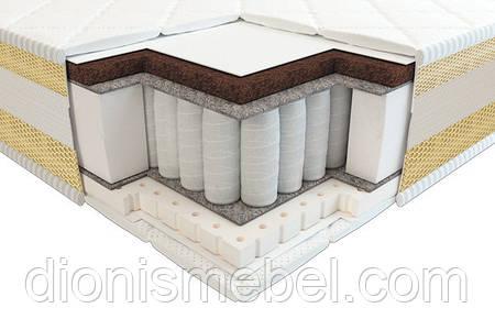 Матрас Тиана 3D латекс кокос comfort зима-лето 70х140