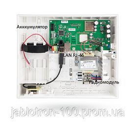 JA-100KR Контрольная панель с LAN коммуникатором и интегрированным радиомодулем