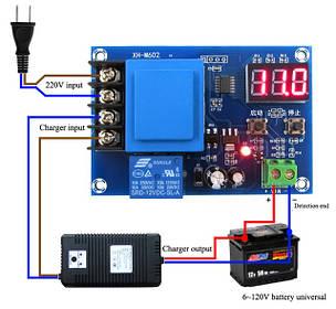 Модули зарядки аккумуляторов