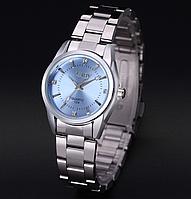 Наручные часы женские с серебристым ремешком код 281, фото 1