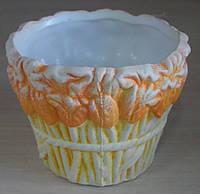 Кашпо керамическое для цветов