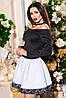Женское короткое коктейльное платье, фото 3