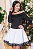 Женское короткое коктейльное платье, фото 7