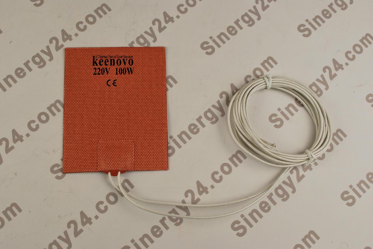 Гибкая греющая пластина 220Вт, 100В, (102х127мм),  без терморегулятора