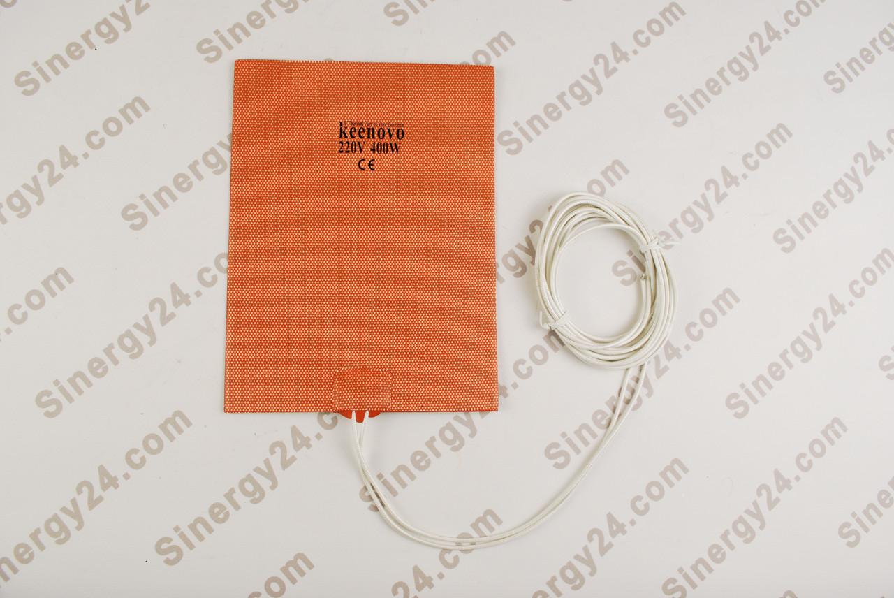 Гибкая греющая пластина 220Вт, 400В, (152х203мм), без  терморегулятоа