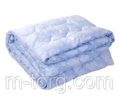 Одеяло полуторное натуральный пух 145*205,ткань тик