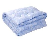 Одеяло полуторное натуральный пух 150/210,ткань тик