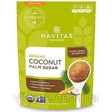 Navitas Organics, Органічний кокосовий пальмовий цукор, 454 г