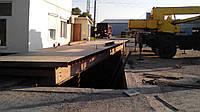 Автомобильные весы ремонт платформы, фото 1