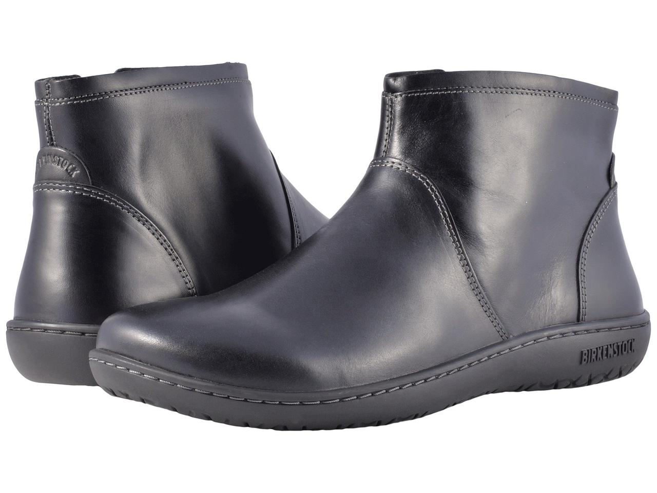 Ботинки Сапоги (Оригинал) Birkenstock Bennington Black Leather - TopUSA