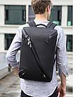 Рюкзак для ноутбука с USB портом водонепроницаемый, фото 4
