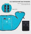 Рюкзак для ноутбука с USB портом водонепроницаемый, фото 8