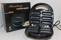 Гриль для сосисок Rainberg RB-6301 мощный 1800Вт Сосисочница Хот Дог